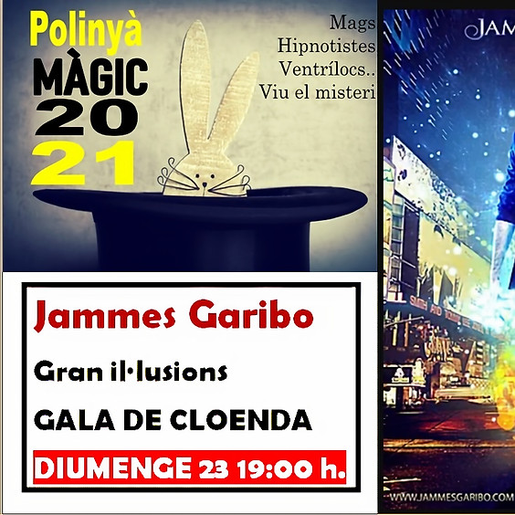 GALA DE CLOENDA AMB JAMMES GARIBO