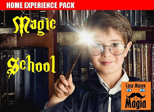 MAGIC SCHOOL :Gradúate en Magia, al estilo Hogwards (Edad de 8 a 12 años)