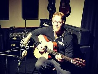 Scott Reynolds Recording Session For Operation Smiles