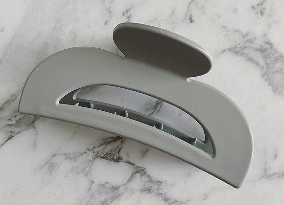Grey Modern Hair Claw (Medium size)