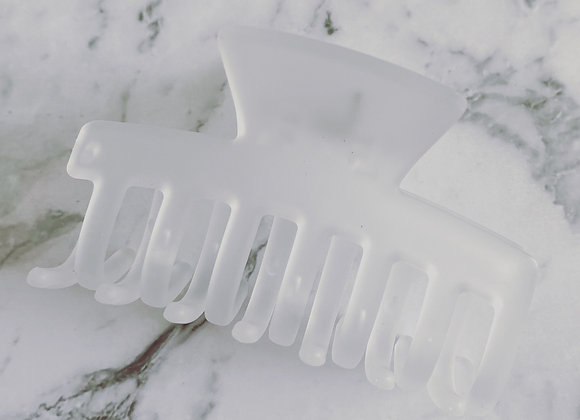 Frosted Clear xSmall Hair Claw