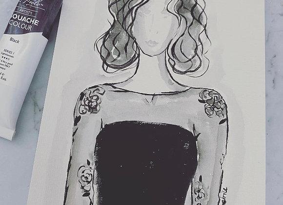 Black Lace Beauty