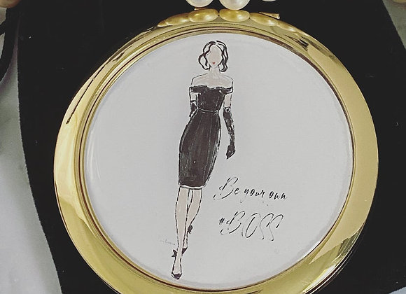 Compact Mirror - Be your own #BOSS