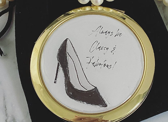 Compact Mirror - Always be classy & fabulous