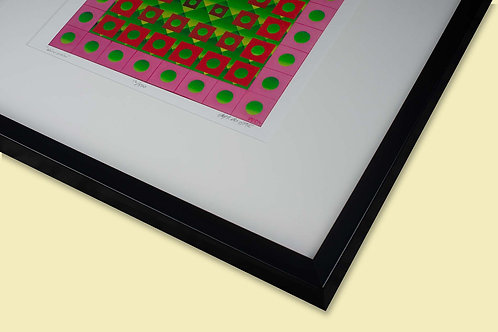 Giclee with frame