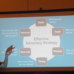 Learning to make an effective advocacy strategy