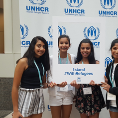 I stand# WithRefugees