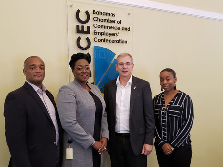Courtesy Call - High Commissioner of New Zealand visits the BCCEC