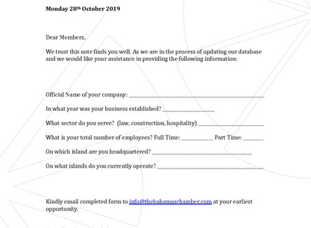 Membership Update Form