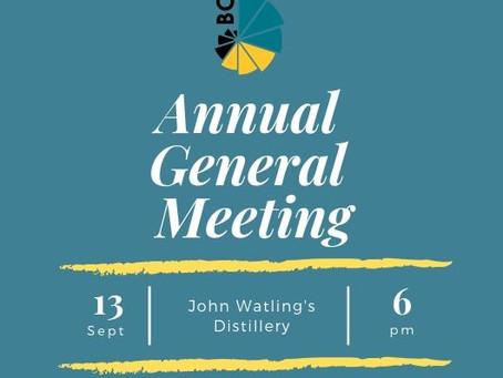 BCCEC Annual General Meeting 2019
