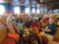 2018 Baja Bop fans in Xanadu Lounge