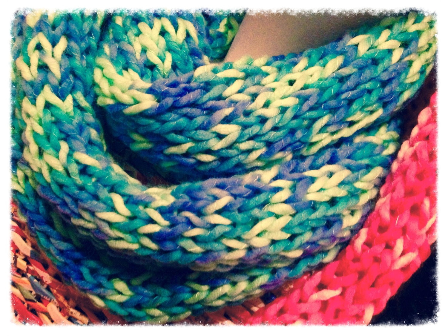 Infinity Scarves: £20