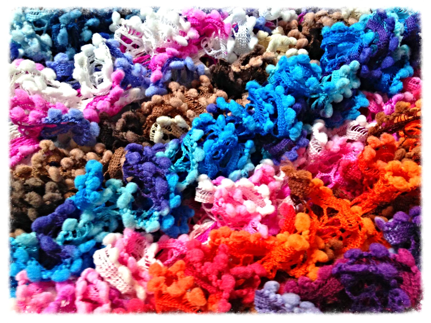 Frilly Scarves: £15