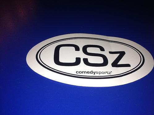 Removable CSz Euro Sticker