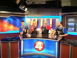 Channel 4 News Crew