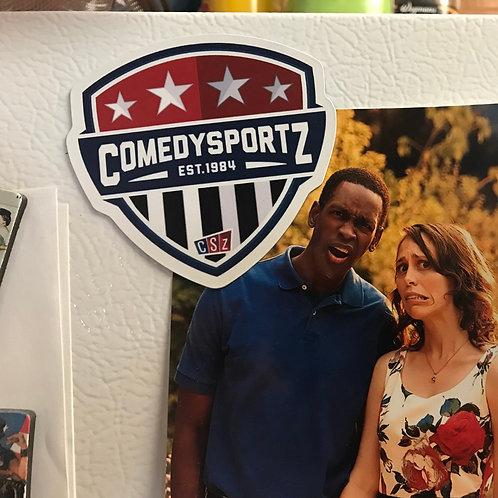 ComedySportz Shield Magnet