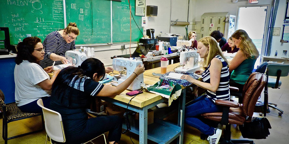 Sewing camp for adults (and teens 15+)