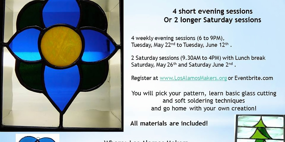 Beginners Stained Glass Class