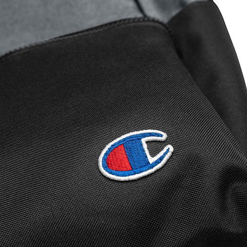 """""""I Support"""" Bikers C.A.R.E. Embroidered Champion Backpack"""