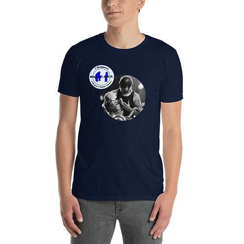 """Biker with baby"" T-shirt"