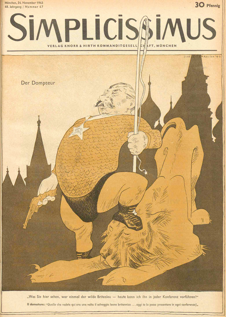 Olaf G 1943 Stalin .jpg