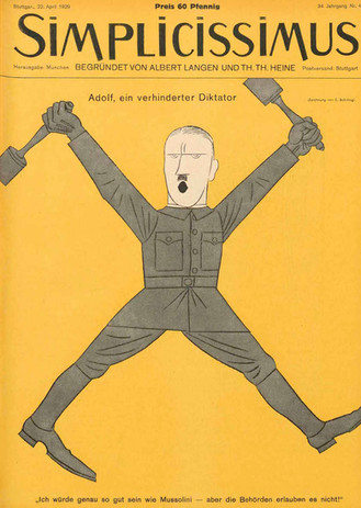 Schilling 1929 Adolf, ein verhinderter D