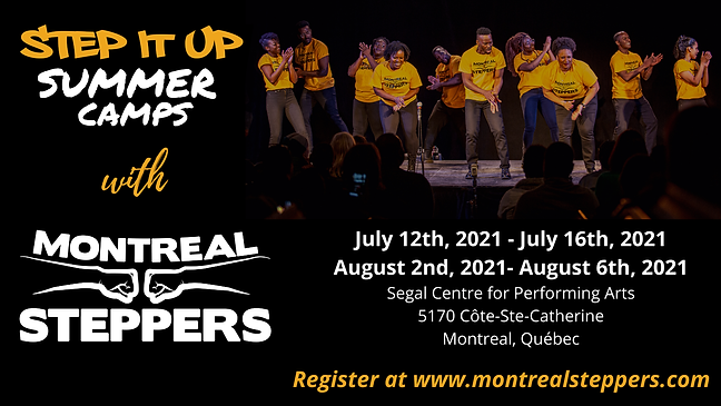 Step-It-Up-Montreal Steppers Summer Camp