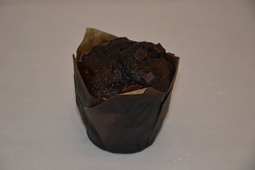 Triple chocolade muffin