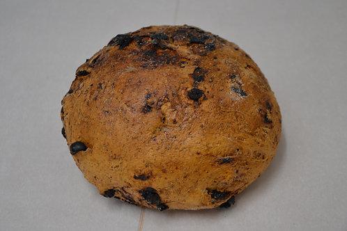 Roggebrood met rozijnen