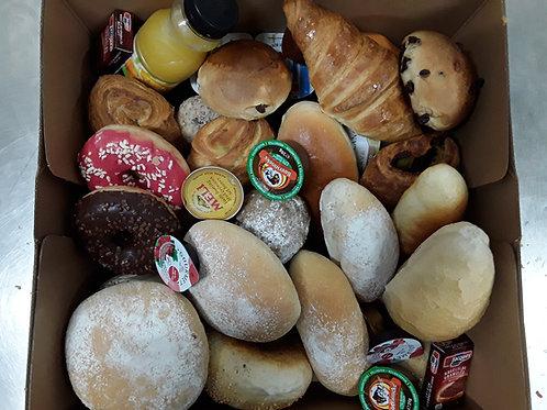 Ontbijtbox moederdag+ cava (4 pers)