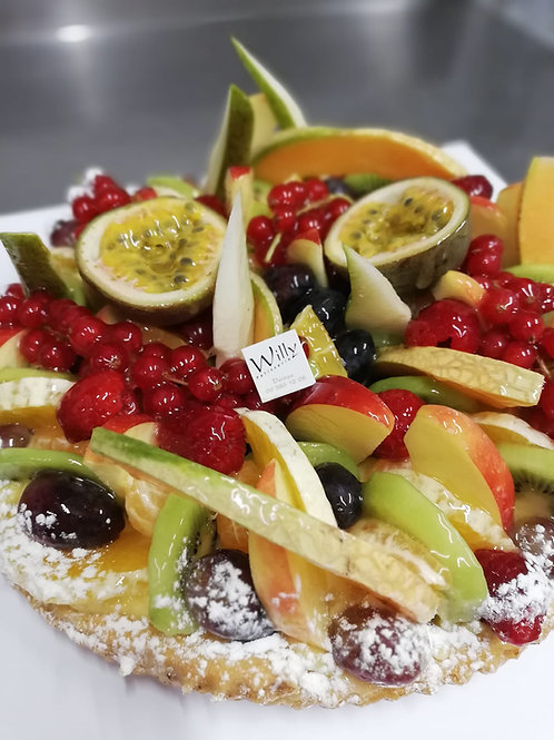 Fruittaart 8 pers