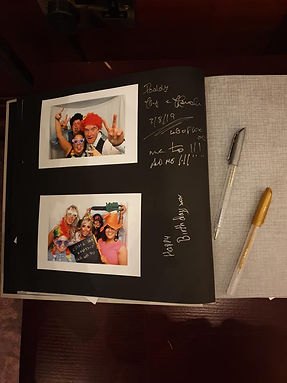 Rhythm And Booth Guest Book