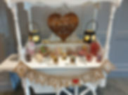 Rhythm And Booth Candy Cart