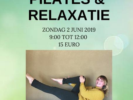 Workshop Pilates & Relaxatie