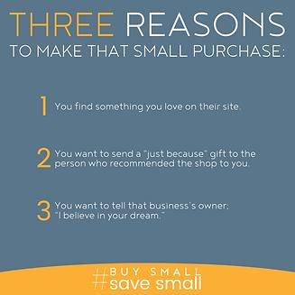 Three Reasons to #BuySmallSaveSmall.png