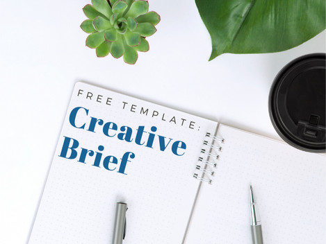 Free Template: The Creative Brief