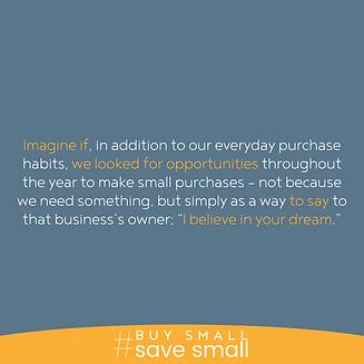 #BuySmallSaveSmall A Dream.png