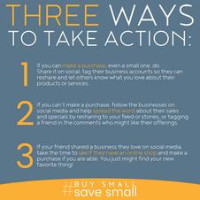 Three Ways To Take Action Square