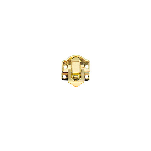 Kit com 4 Fechos Trava Dourados c/ Parafusos (3297)