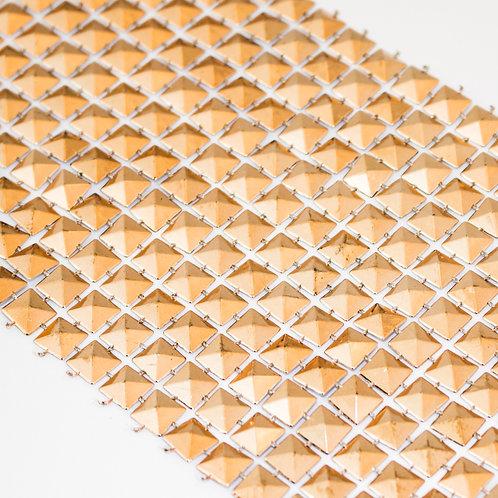 Manta de Plástico Dourada 3264 - 0,09 m x 9 m