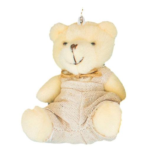 Urso Sentado Macacão 8cm (3368-m)