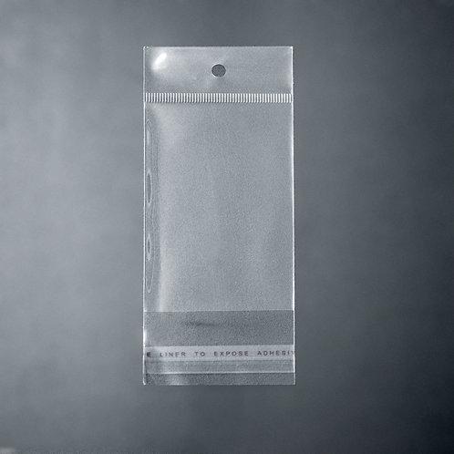 3204 Cartucho Plástico c/ furo 6 cm x 12 cm