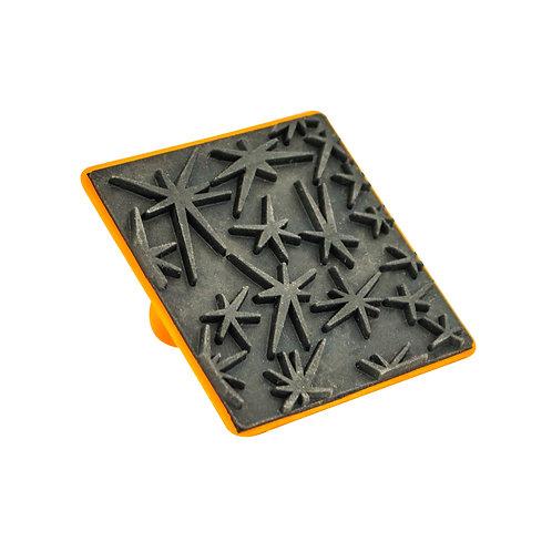 Carimbo de Borracha 6cm - 006 Estrelas