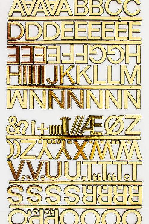 Adesivo Letras Douradas 25mm (6715)