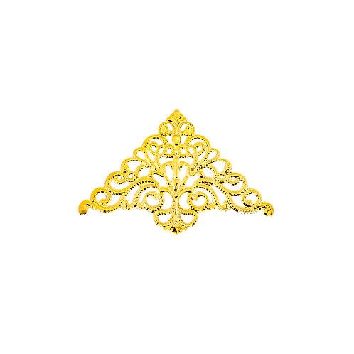 6768 Cantoneira Ferro Ouro 7,5 cm