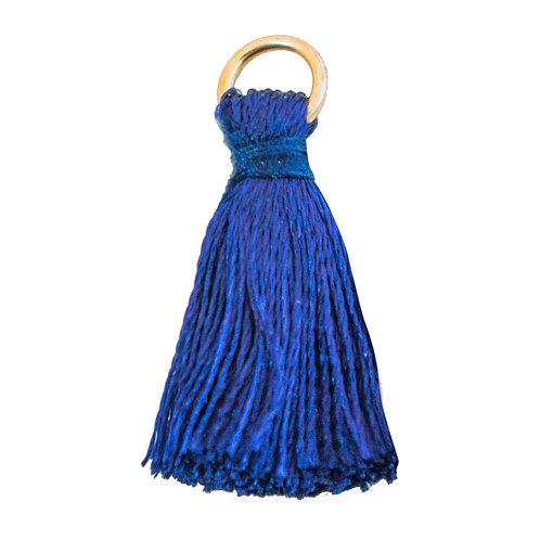 Kit com 20 Pingentes Azul Escuro 18mm (6754)