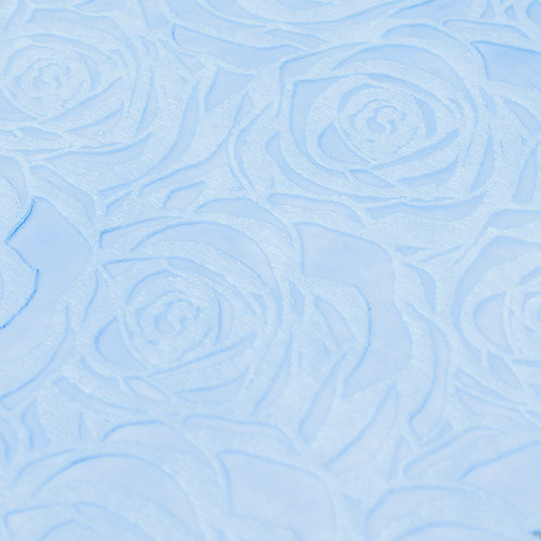 3362 Papel Velutto Rosas G - Azul