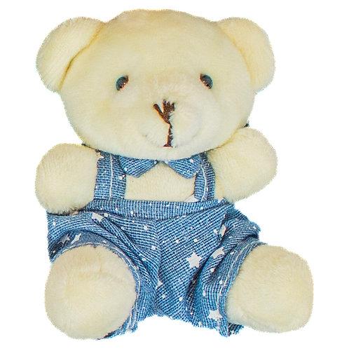 Urso Sentado Macacão 9 cm (3371-m)