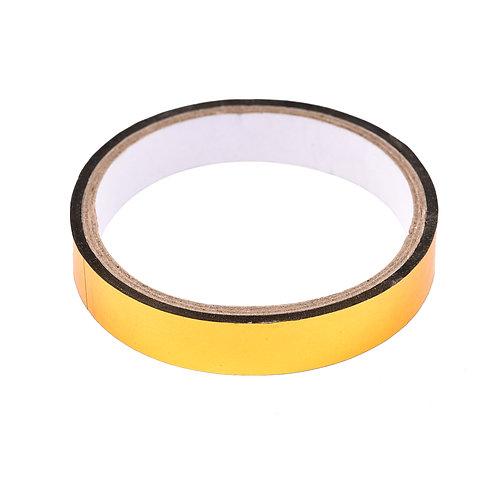 5010 Fita Adesiva Ouro 1,2 cm x 50 m - 1 rolo