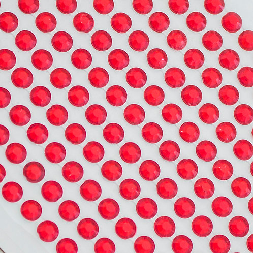 Cartela de Strass Adesivos 5mm (6720-015)